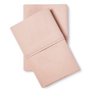 Standard Pillowcase Set Heirloom Pink - Fieldcrest